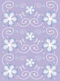 设计花卉淡紫色春天 库存图片