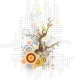 设计花卉系列 免版税库存图片