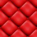 设计被填充的红色无缝 图库摄影
