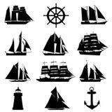 设计要素航行 免版税库存照片