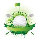 设计要素高尔夫球 向量例证