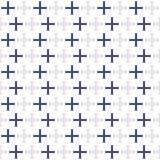 设计要素几何六角例证模式无缝的集向量 免版税库存照片