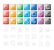 设计要素图标 免版税库存照片