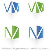 设计要素徽标 免版税图库摄影