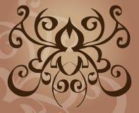 设计要素纹身花刺 库存图片
