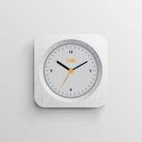 设计观念时钟的时刻 库存图片