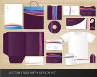 设计集合文教用品向量 库存图片