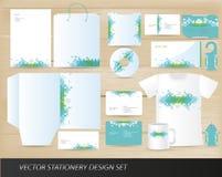 设计集合文教用品向量 免版税库存照片