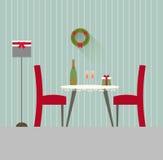 设计餐厅4 免版税库存图片