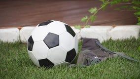 设计高例证横向计划图表分解力 足球,橄榄球起动 股票视频