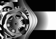 设计齿轮金属 图库摄影