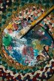 设计,艺术,绘画,凹道 免版税库存照片
