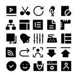设计&发展传染媒介象5 免版税库存图片
