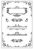 设计elemen华丽维多利亚女王时代的著名人物 库存照片