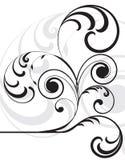 设计florar模式 库存照片