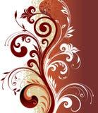 设计florar模式 免版税库存图片