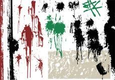 设计grunge集合向量 库存图片