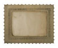 设计scrapbooking样式的grunge纸张 免版税库存图片