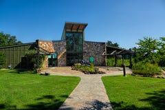 访客中心在珍妮特Huckabee自然中心 免版税库存照片