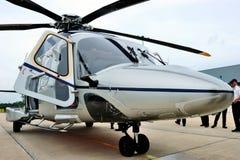 访问泰国的AgustaWestland AW189亚洲游览 免版税库存图片