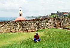访问的波多里哥 免版税库存照片