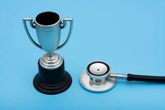 证书医疗保健服务赢取 免版税库存图片