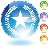 证书图标 免版税图库摄影