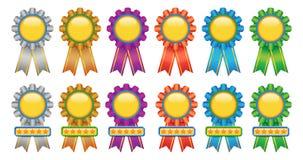 证书奖牌 免版税图库摄影