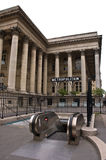 证券交易所地铁巴黎岗位 免版税库存照片