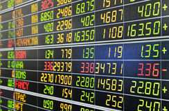 证券交易所 免版税图库摄影