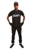 从证券公司的治安警卫 库存照片