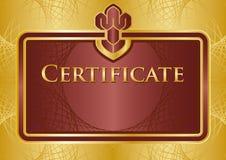 证明文凭 免版税库存图片
