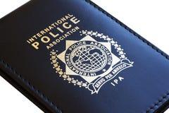 证明警察 免版税库存图片