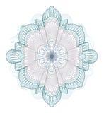 证明设计elenent扭索状装饰货币 库存图片