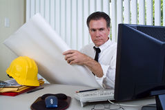 评估的工作 免版税图库摄影