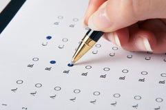 评估 免版税库存照片