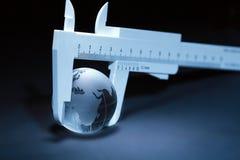 评定的世界 免版税图库摄影