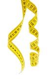 评定的磁带黄色 库存图片