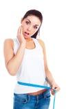 评定的腰部妇女 免版税库存照片