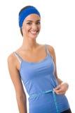 评定的腰部妇女 免版税库存图片