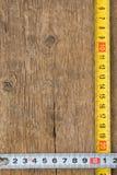 评定磁带纹理木头 免版税图库摄影