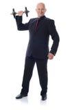 诉讼增强的重量 免版税库存照片