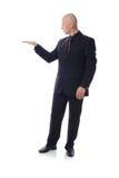 诉讼藏品空间的人 免版税库存照片