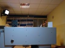 诊所办公室接收 免版税库存图片