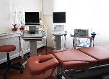 诊所物理疗法 免版税库存图片