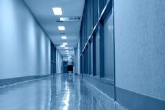 诊所走廊 免版税库存图片