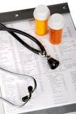 诊断健康 免版税库存照片