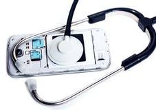 诊断和服务电子 库存照片