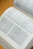 词典德语 库存照片