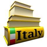 词典指南意大利 免版税库存图片
